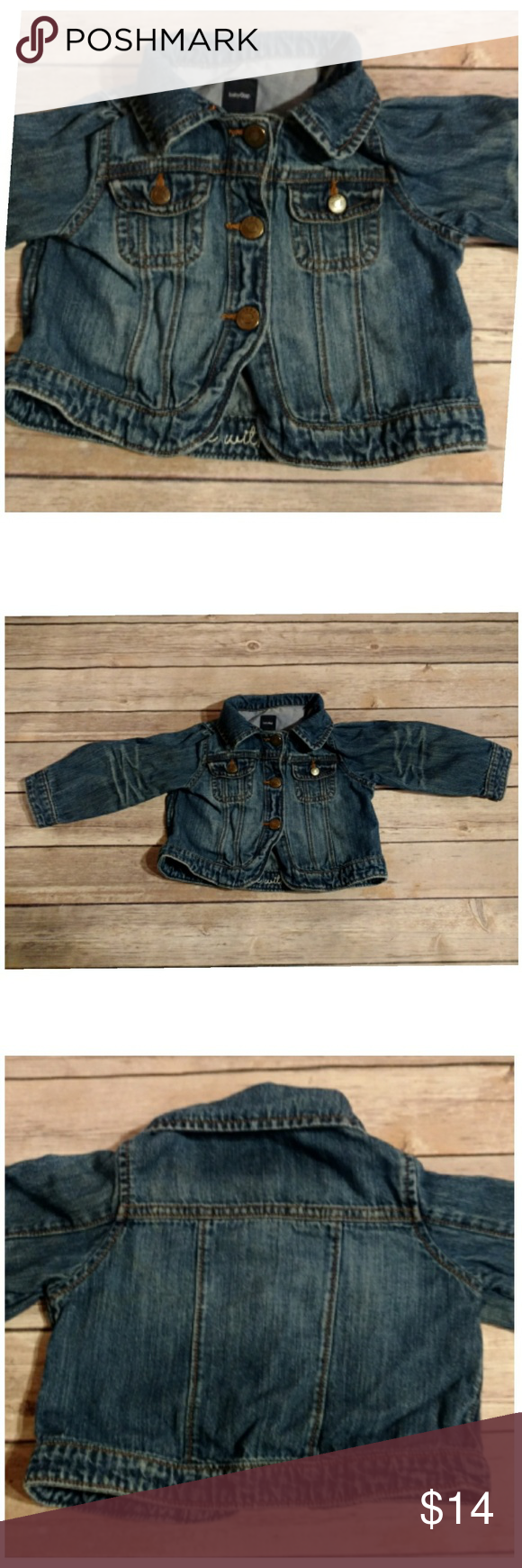 fd1a94e87125 12-18M Baby Gap Jean Jacket Size  12 - 18 months Brand  Baby Gap ...