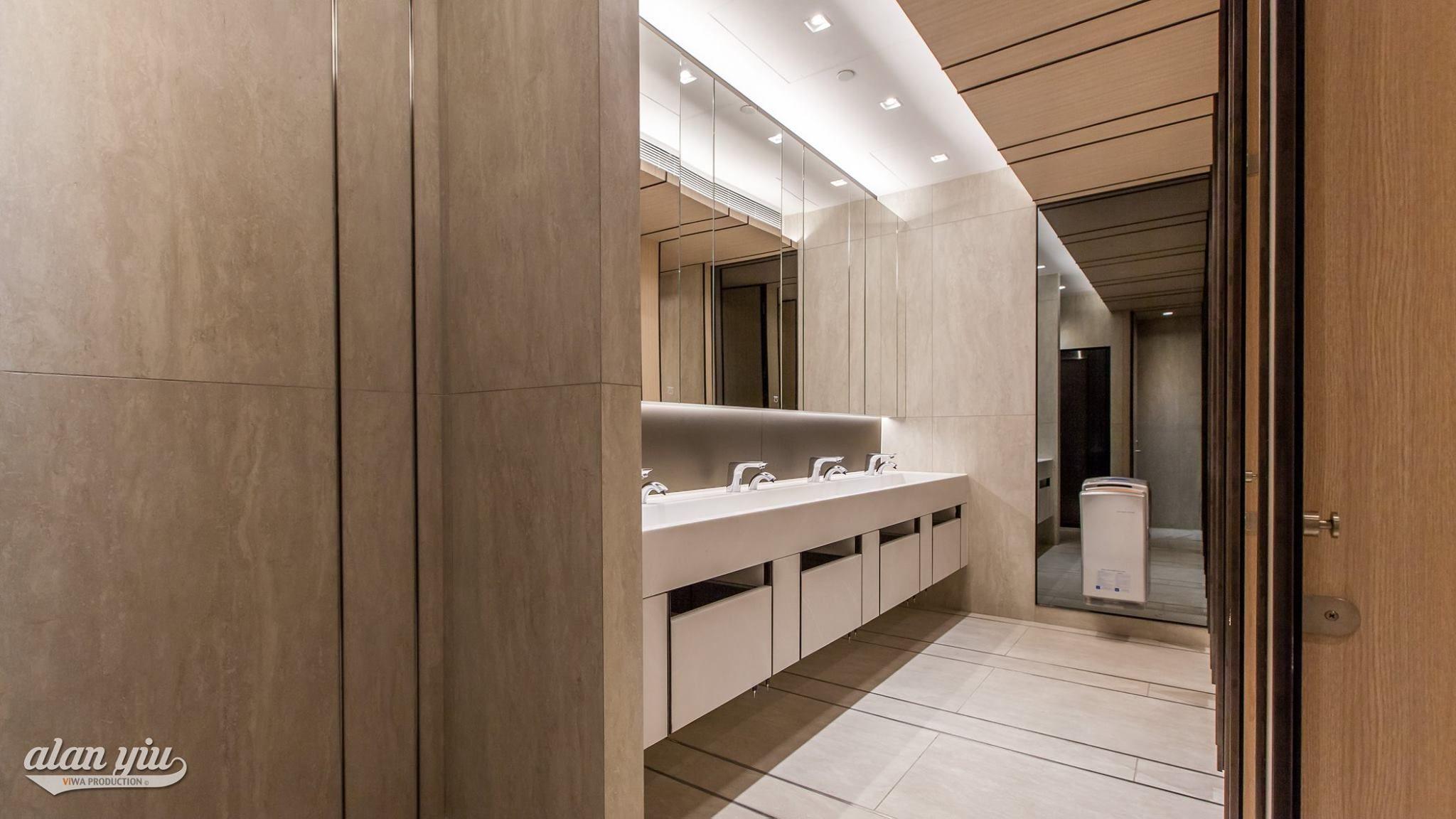 Viwa Production 希爾頓中心衛生間 Hilton Plaza Washroom Interior Design Project Shooting Interior Design Projects Interior Design Design Projects