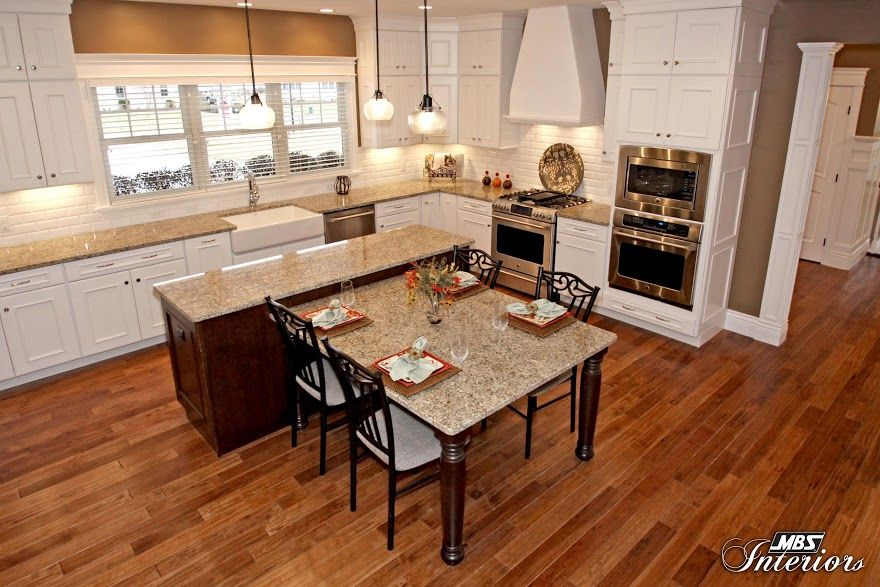 kitchen island with table attached beauteous kitchen design trends