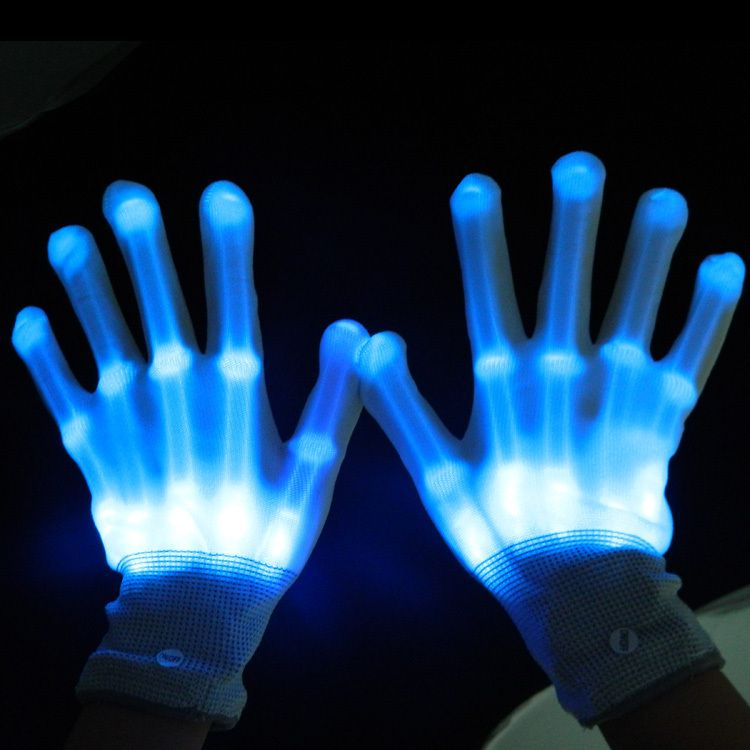 Aliexpresscom  Buy 4pcs2pairslot led lighting gloves flashing cosplay  novelty