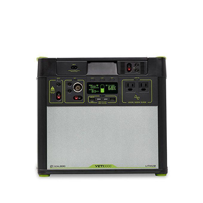 Goal Zero Yeti 3000 Lithium Portable Power Station Wifi