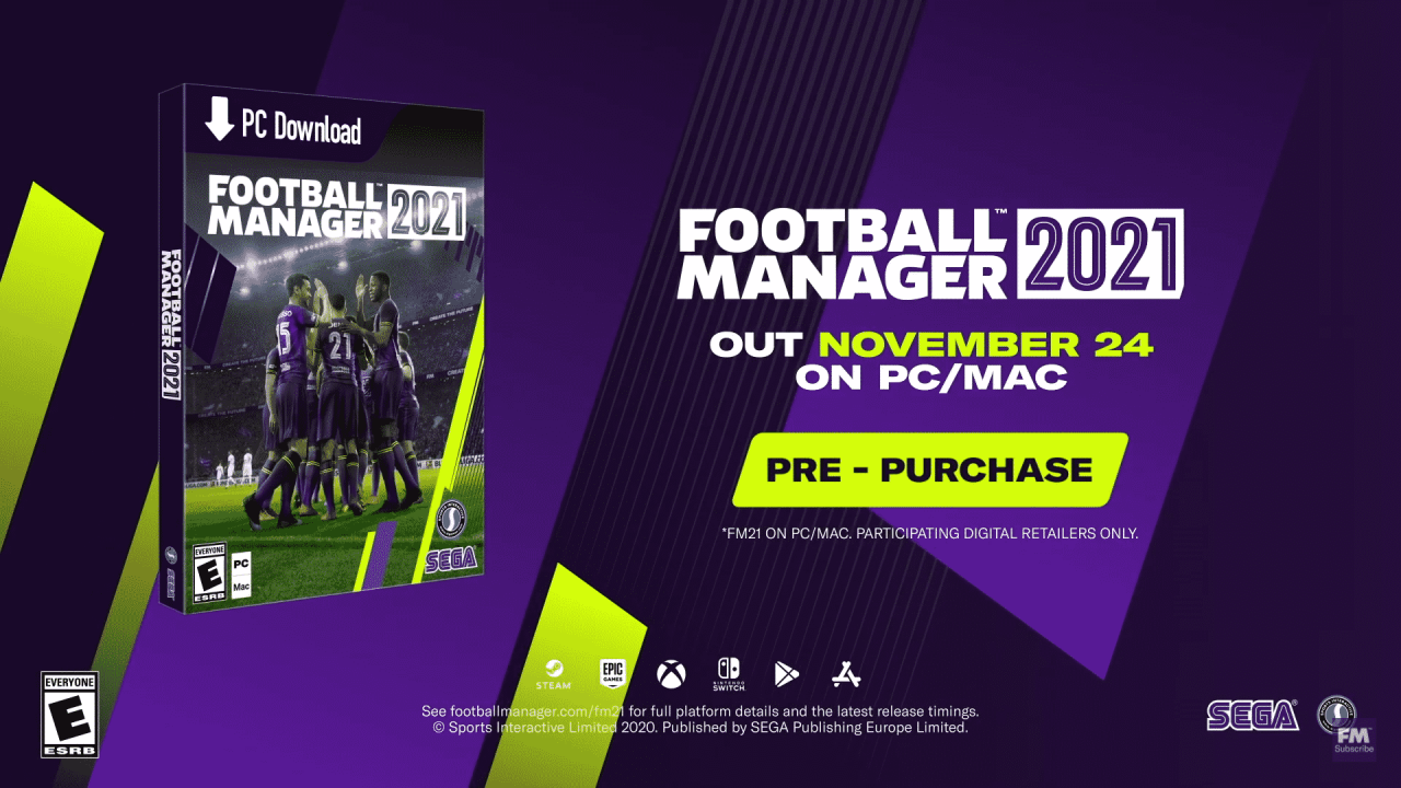 Football Manager 2021 Makes Return To Xbox Sports Gamers Online In 2020 Football Manager Sports Video Game Football