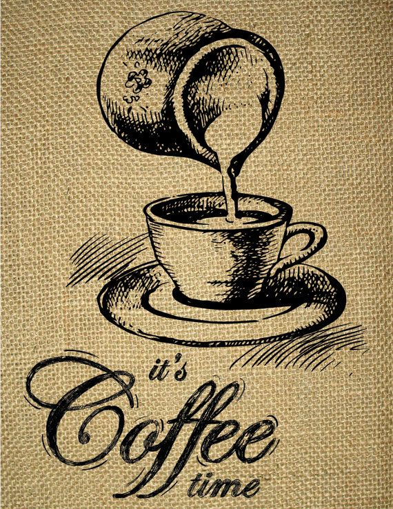 INSTANT DOWNLOAD-Kitchen Wall Art-Coffee Art-Cup of Coffee-Coffee ...