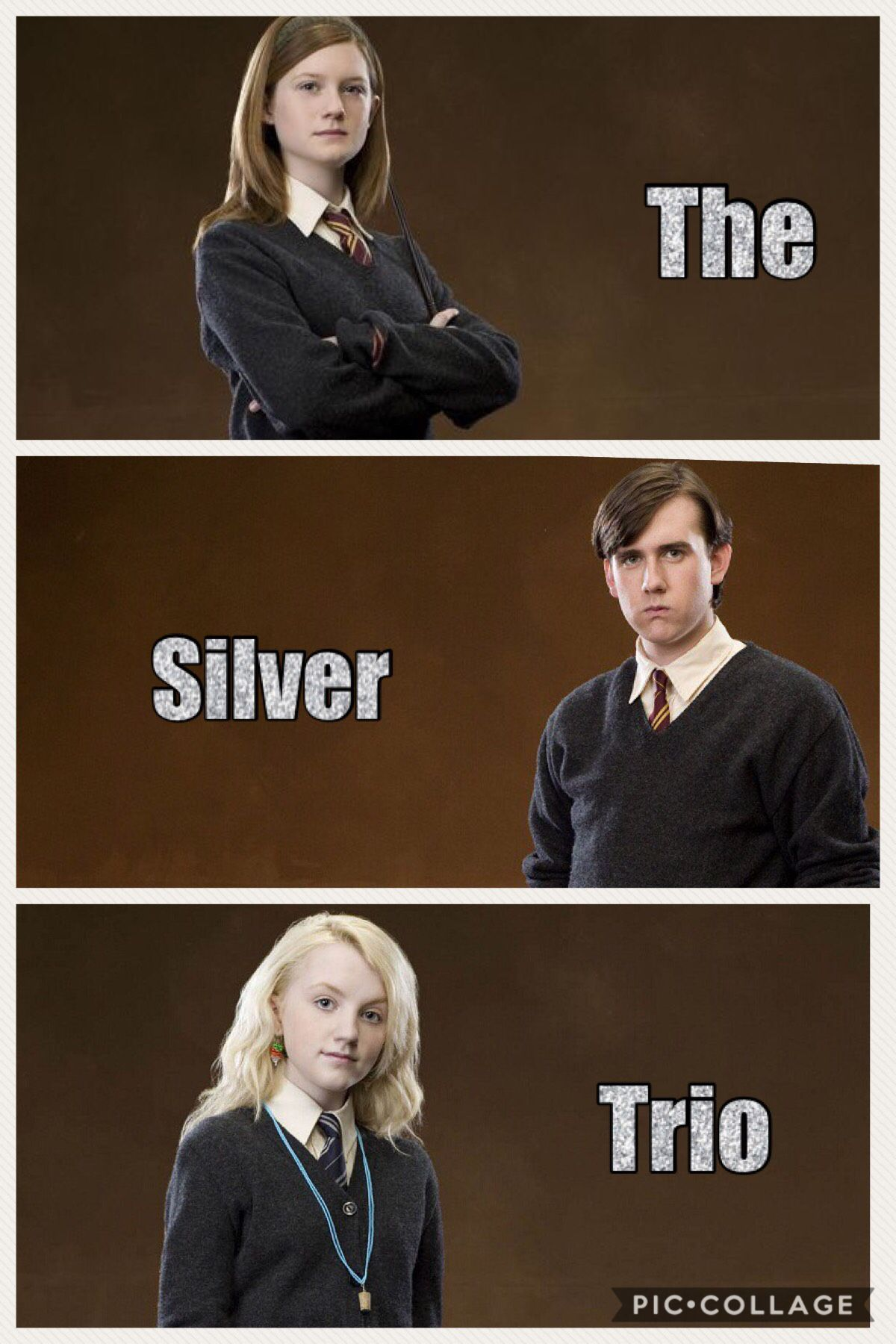 Luna Is My Favorite In The Silver Trio Harry Potter Universal Harry Potter Wizard Draco Harry Potter