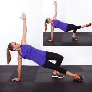 Image result for Side Plank Lift shape magazine