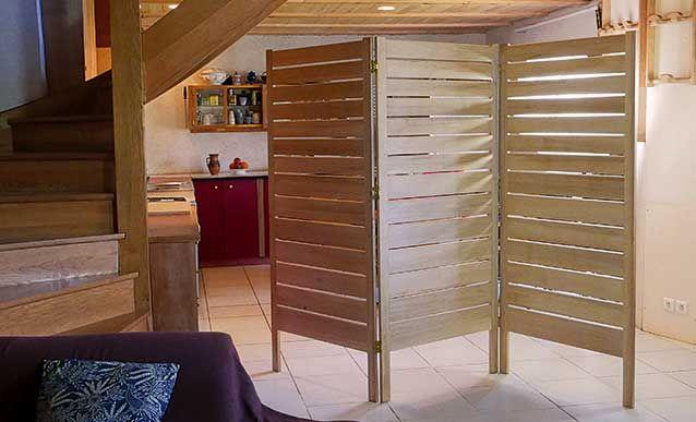 explications pas pas pour fabriquer un paravent en bois diy d coration mobilier. Black Bedroom Furniture Sets. Home Design Ideas