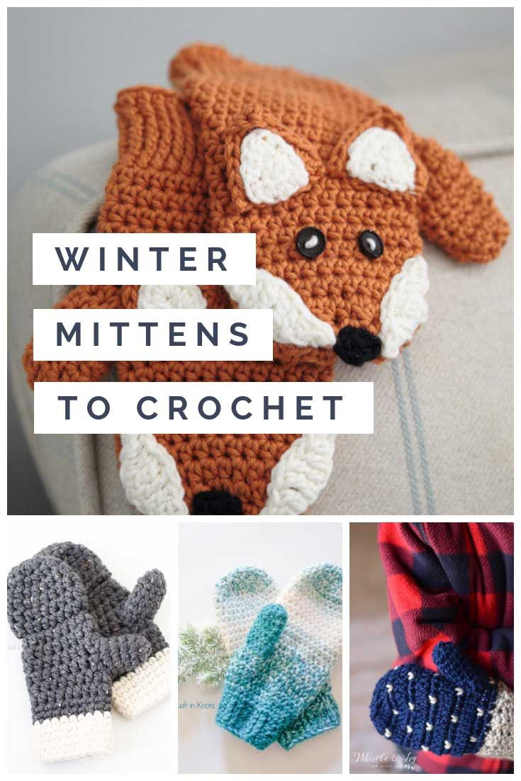 Free Crochet Mitten Patterns {Keep your hands warm this