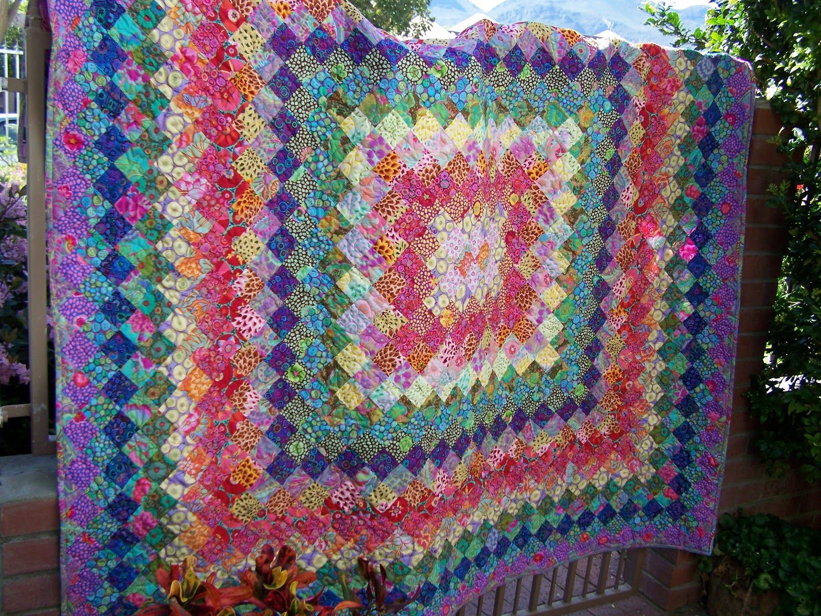 quilting patterns with four colors