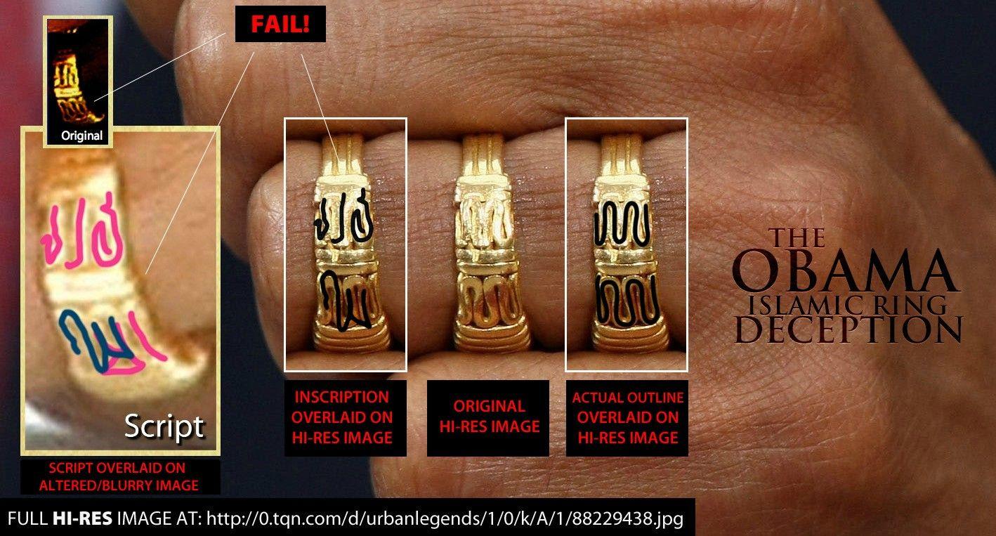 barack obama muslim ring snopes hi res image of obamas - Obama Wedding Ring