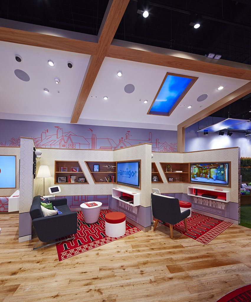 Our House Virgin Media Flagship Concept Puts The Fun Back In Retail Retail Interior Retail Inspiration Space Design