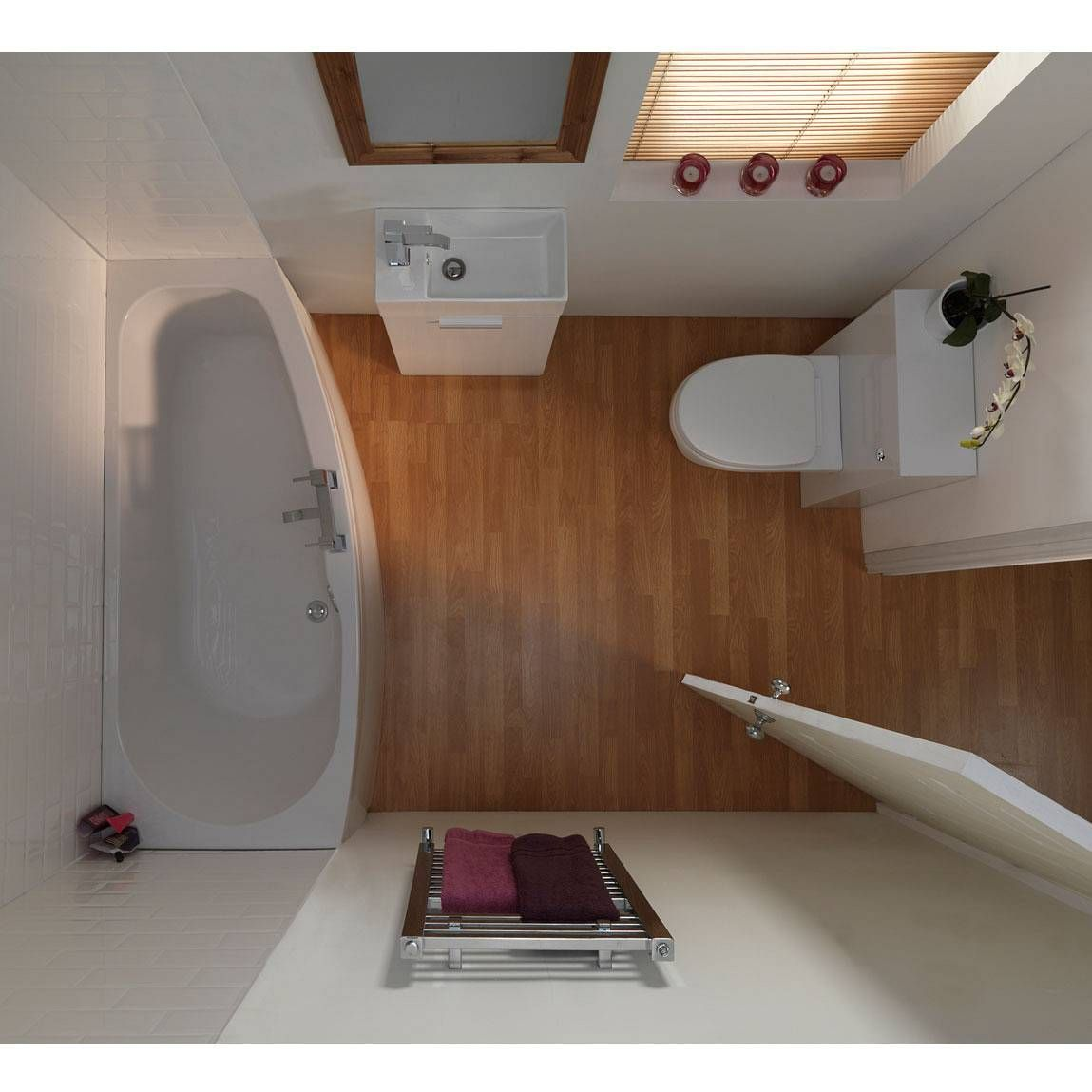 Compact Bathroom Suites Interior Decoration