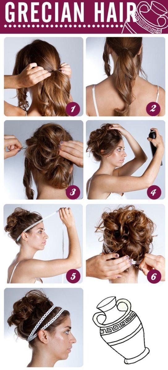 Grecian Hairstyle Grecian Hairstyles Grecian Goddess Hair Goddess Hairstyles