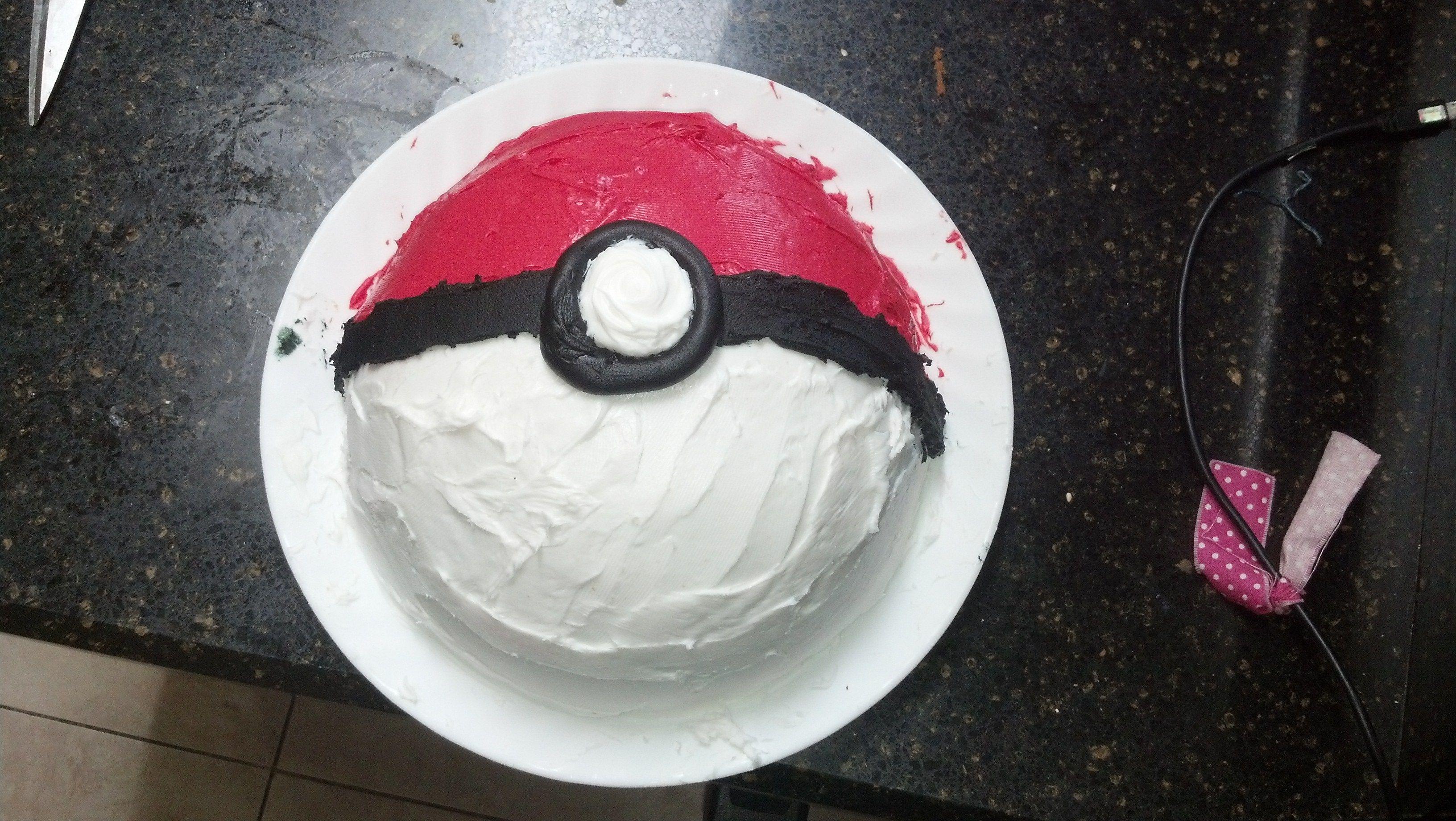 Pokemon birthday ice cream cake Ice cream cake, Ice
