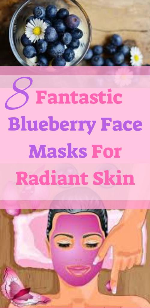 8 Fantastic Blueberry Face Masks For Radiant Skin