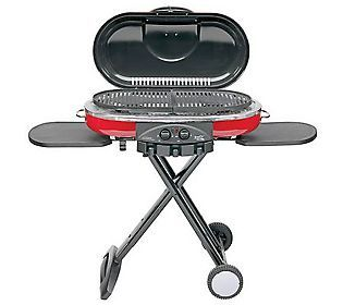 Coleman Roadtrip Grill Lxe Qvc Com Portable Grill Best Gas Grills Outdoor Cooking