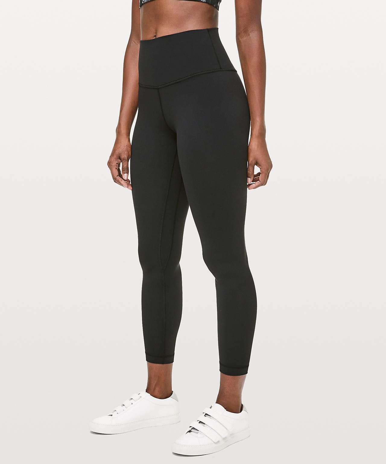 ad94a0d3f37944 Align pant 2, 28inch or longer in a size 4.... I like them in black or the  nude/pink color!