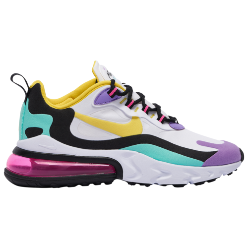 Nike Air Max 270 React Casual Running Shoes - White ...