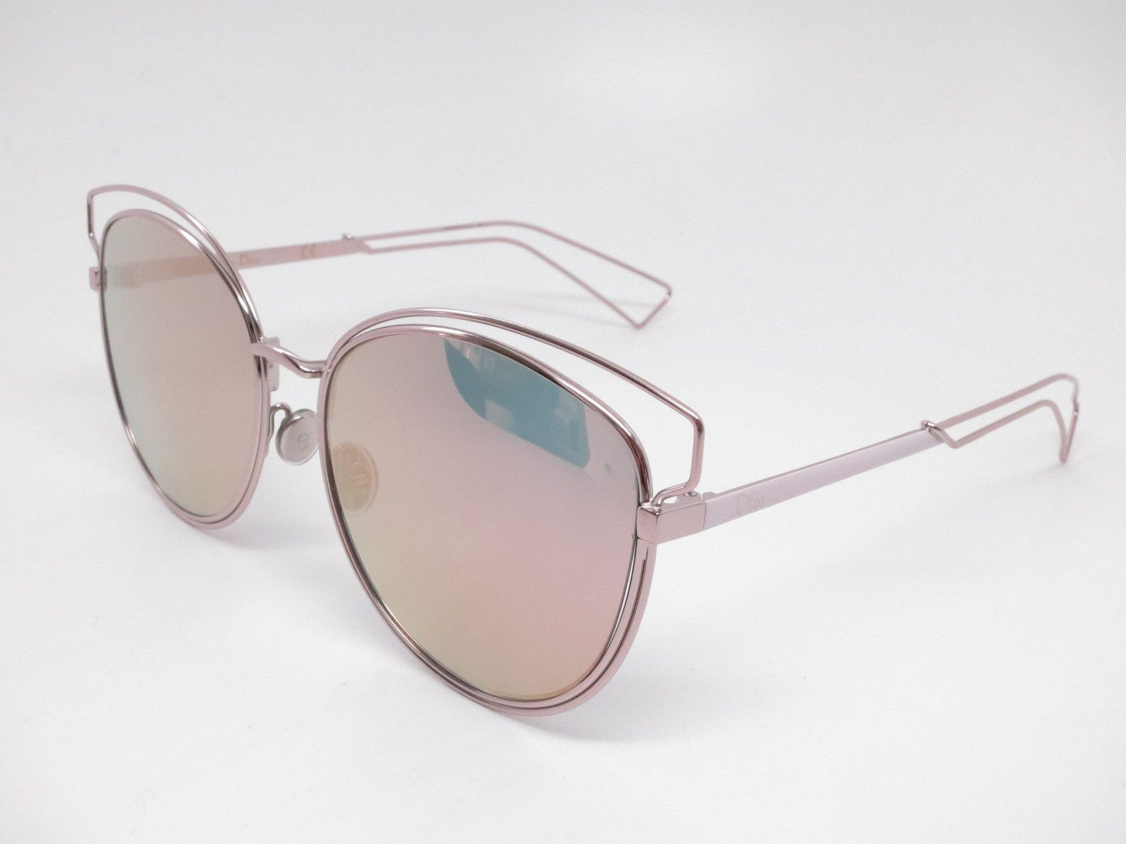 5be19c783445f3 Dior Sideral 2 JA00J Pink w/Gray Rose Gold Sunglasses ...
