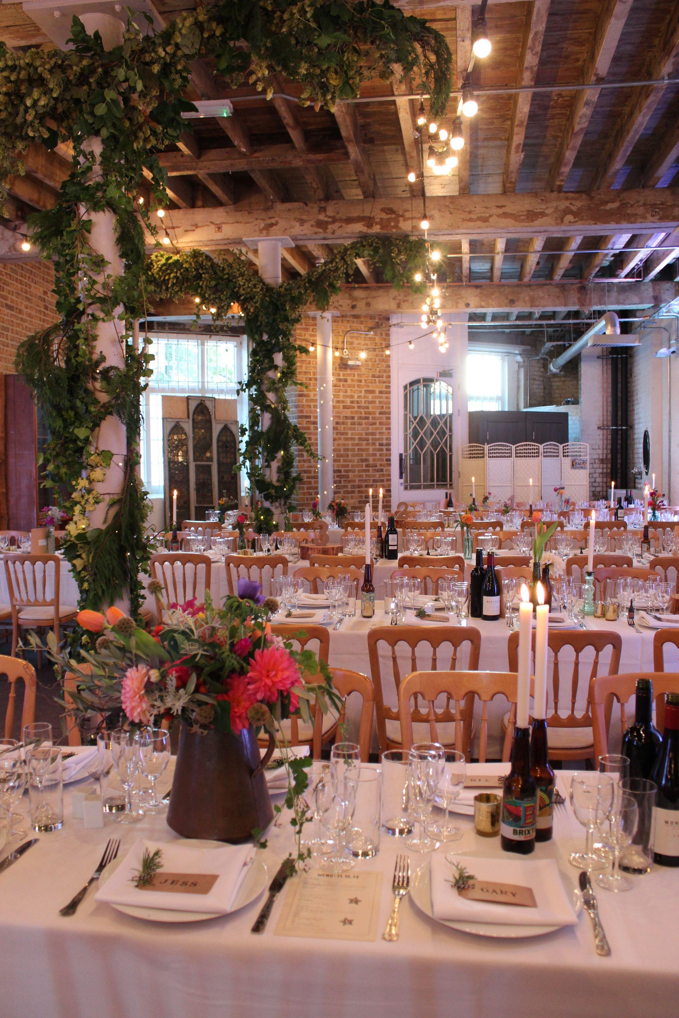Brixton East Wedding Wedding Pinterest Wedding Warehouse