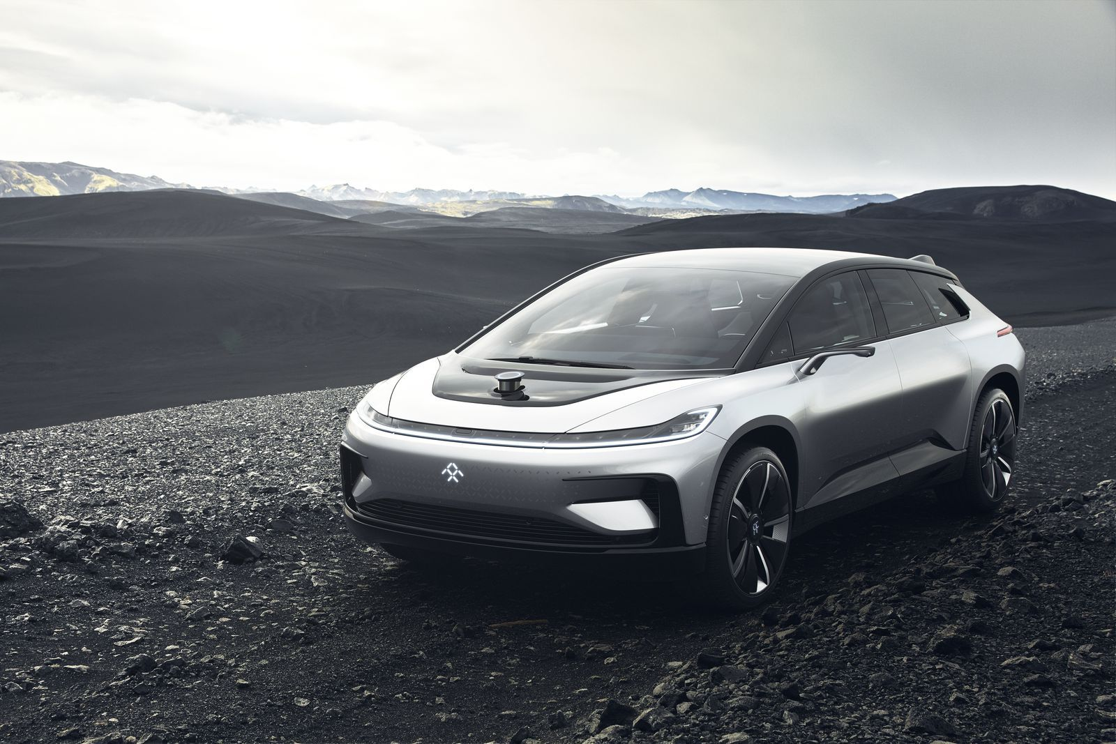 Faraday Future S First Car The Ff91 Is Here Faraday Future Future Electric Cars Electric Crossover