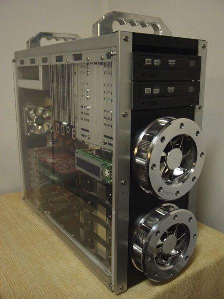 120mm Billet Fan Grill Blow Hole Kit Custom Pc Custom Computer