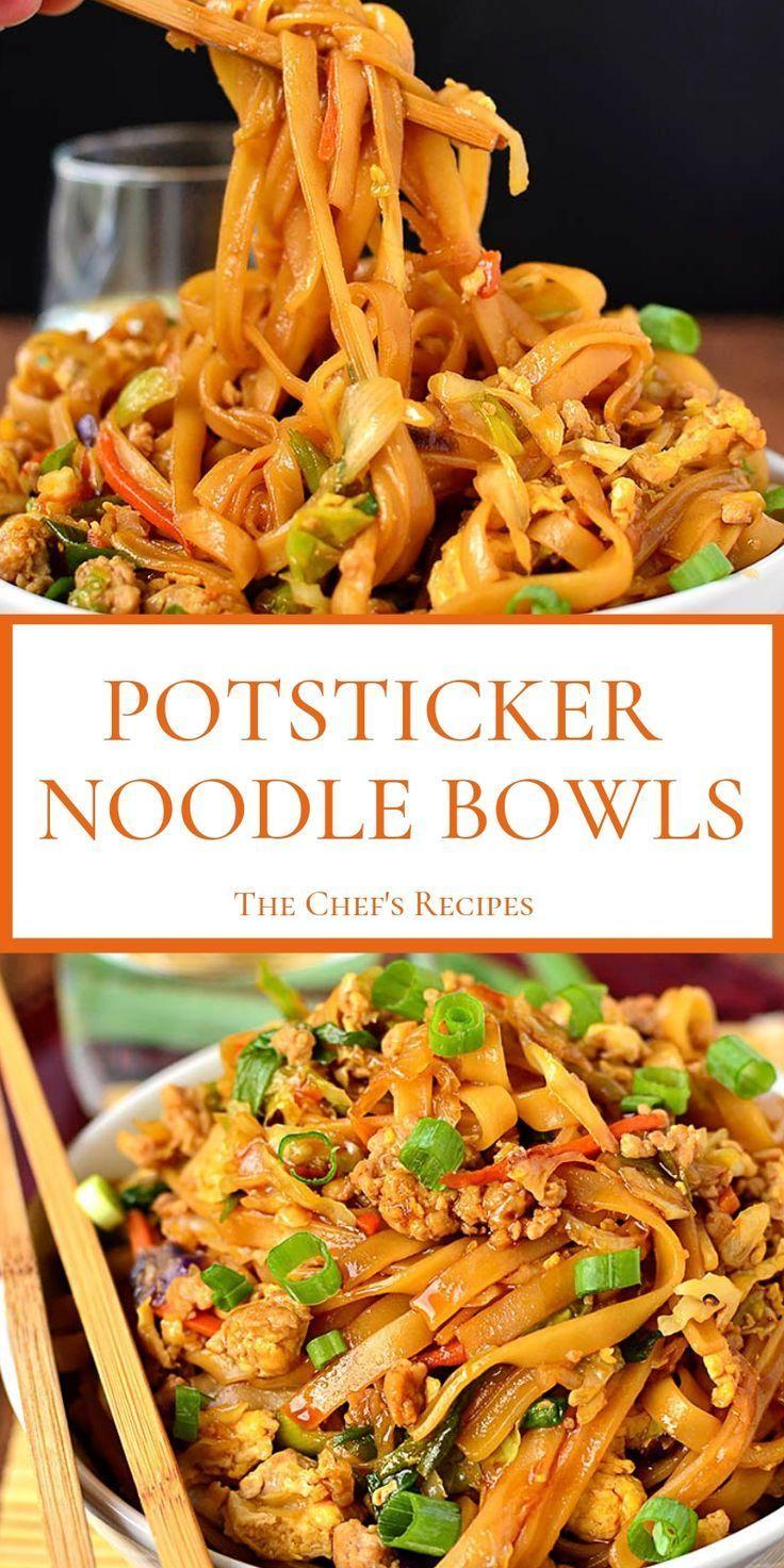 POTSTICKER NOODLE BOWLS   - we ♥ savoury food - #Bowls #Food #Noodle #Potstick... -  POTSTICKER NOODLE BOWLS   – we ♥ savoury food – #Bowls #Food #Noodle #Potsticker #savoury  - #bowls #food #noodle #potstick #potsticker #ramennoodlerecipes #sausagerecipes #savoury #tacorecipes #whole30recipes