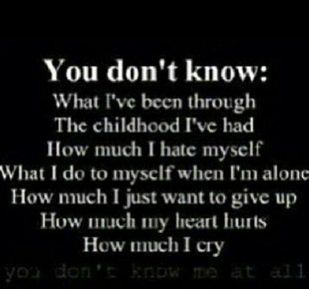 Sad Quotes About Love: Sad Depressing Suicide Quotes. QuotesGram