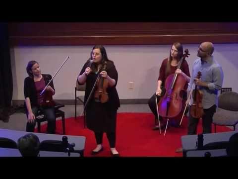 Instrumenting Change | Tetra String Quartet | TEDxArrowheadRanch - YouTube