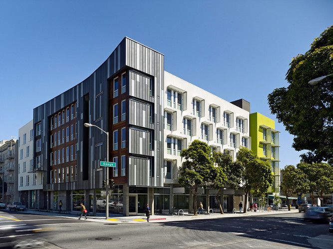 The Top 14 Buildings Of 2012 Low Income Housing Facade Architecture House Projects Architecture