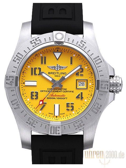 21a796fd94c Breitling Avenger II Seawolf A1733110.I519.153S.A20DSA.2 Diver Pro III Band