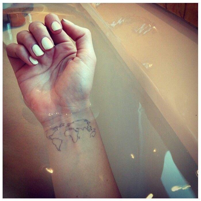 wanderlust tattoos   Wanderlust, I want this tattoo :)