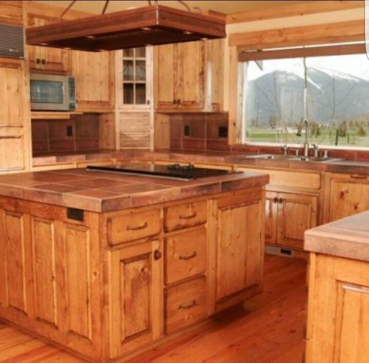 Knotted Oak Kitchen Cabinets: Pine Kitchen Cabinets, Pine Kitchen
