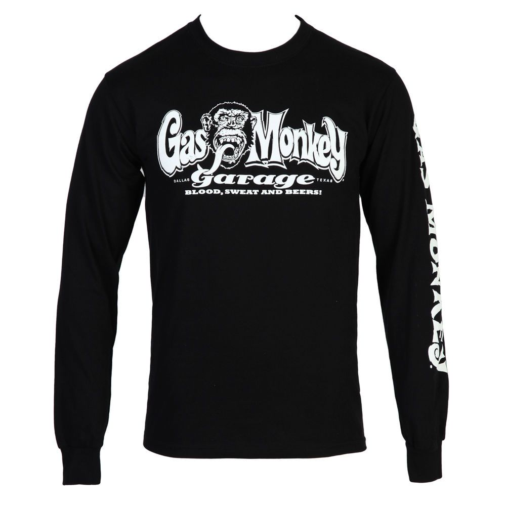 Gas Monkey Officially Licensed Garage Graphic T-Shirts