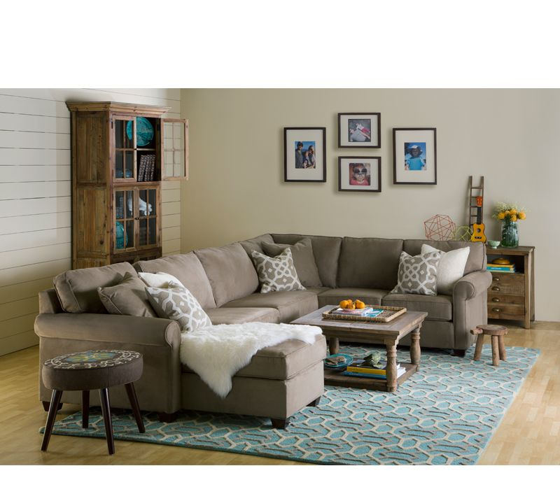 Boston Interiors - Marshall 3-pc Sectional With Chaise  sc 1 st  Pinterest : boston interiors sectional - Sectionals, Sofas & Couches