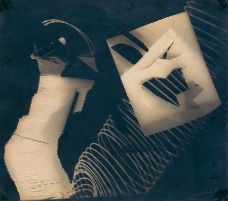 László Moholy-Nagy Photogramm, 1929, photogram