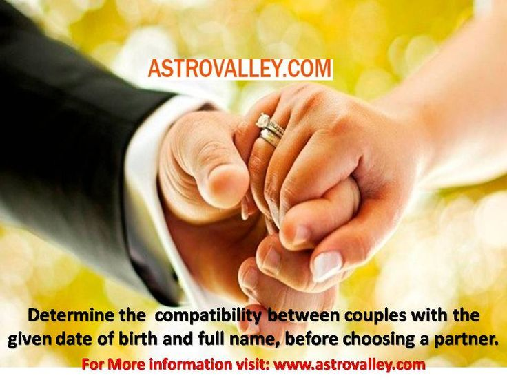 Date compatibility for marriage
