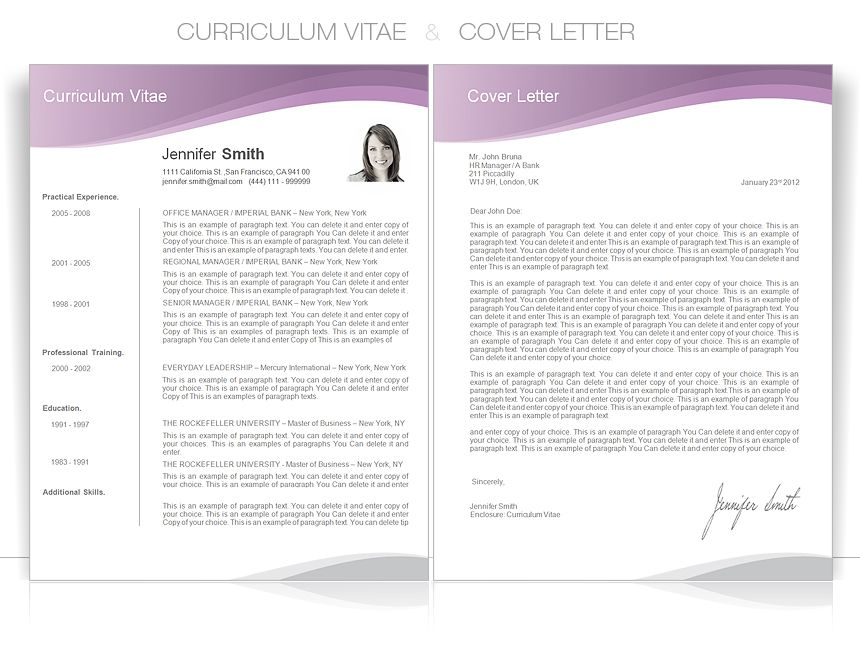 CV, #Resume, #CVTemplate, #CVDesign _cvspecial CV - cover letter word templates