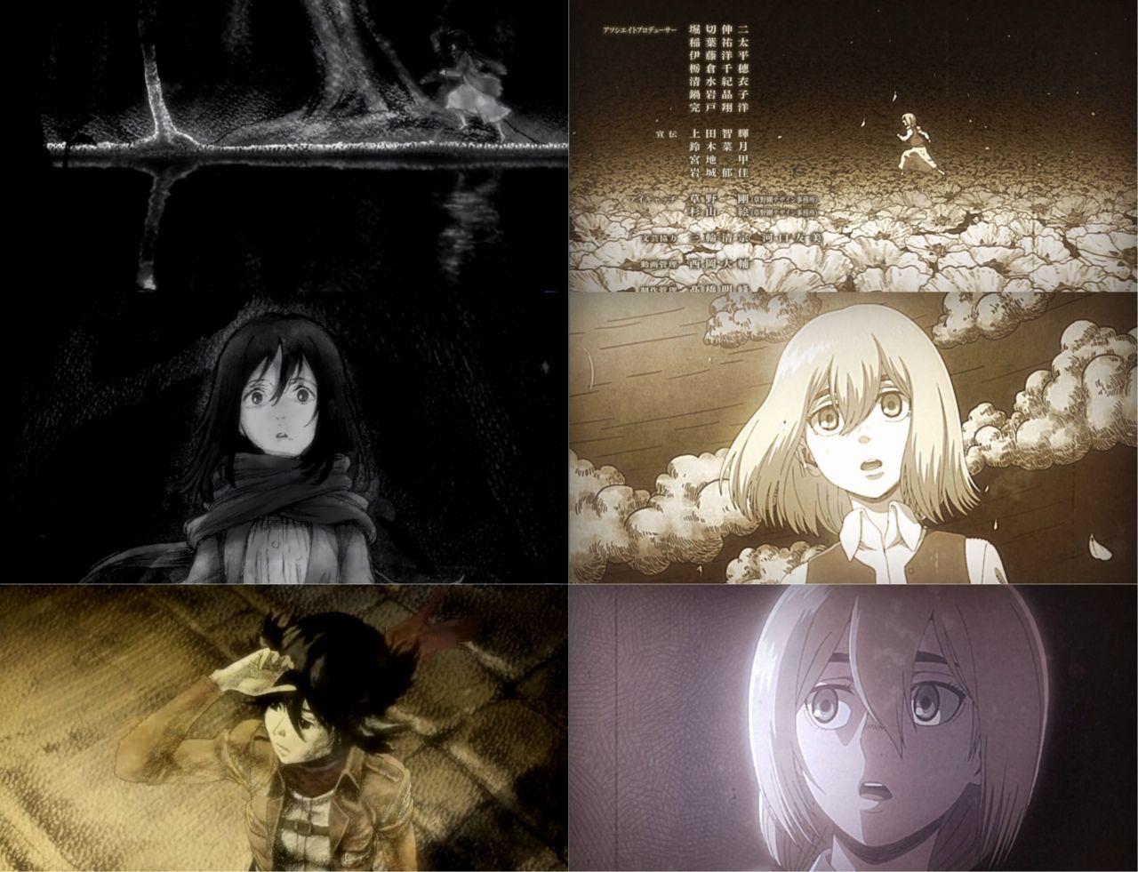 Ending Season 1/3 Kyojin, Shingeki no kyojin, Snk