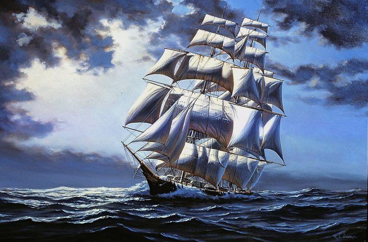 картинка ветер корабли кафе