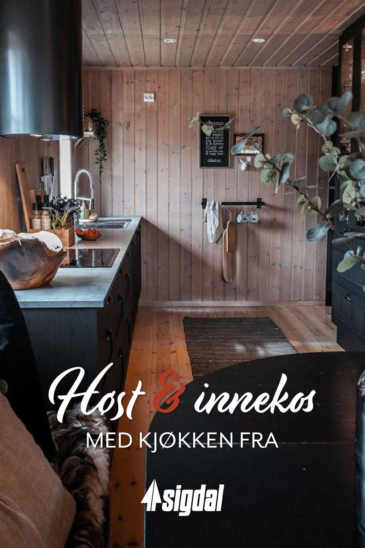 Photo of Høst og en perfekt tid for innekos på hytta!