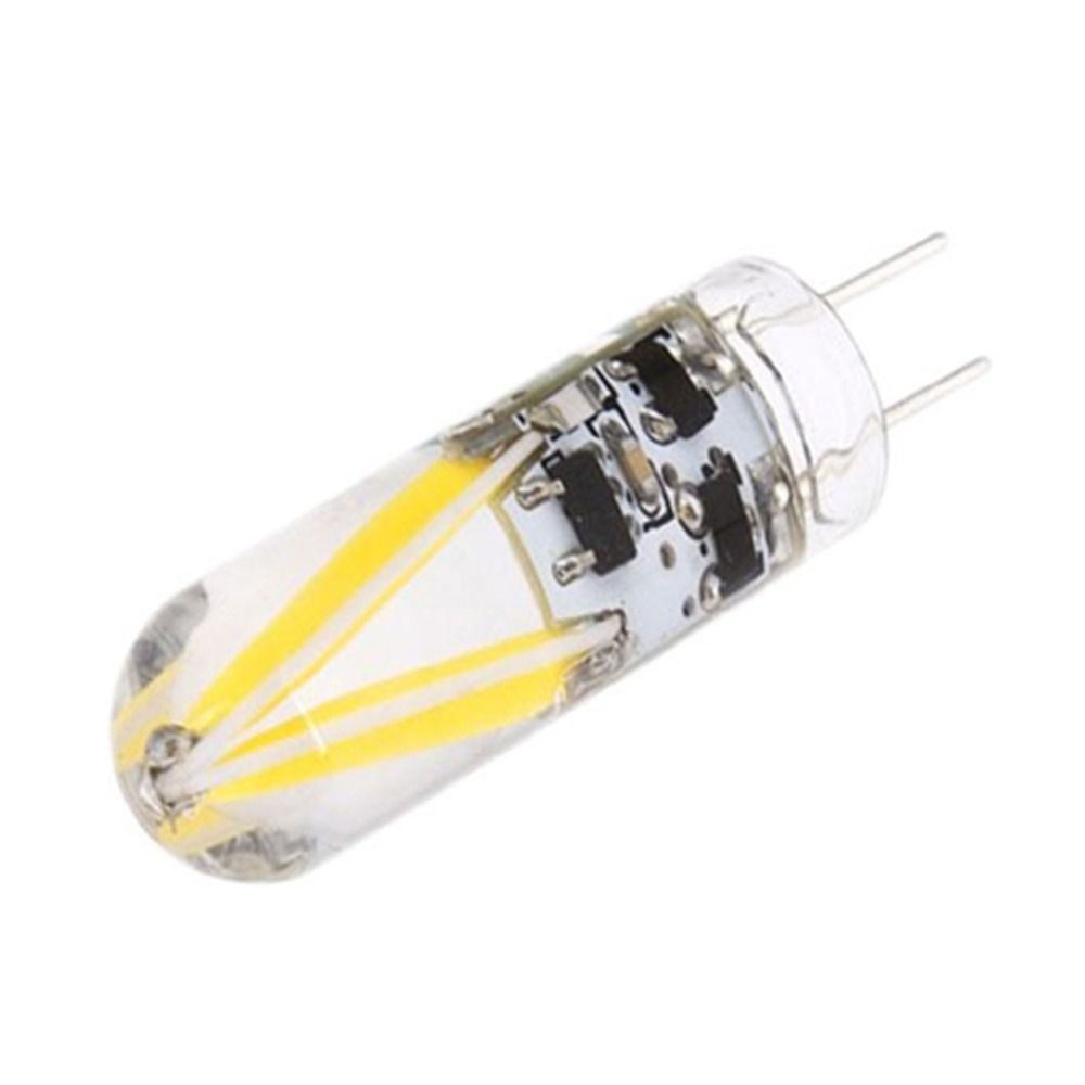 10pcs Led G4 3w Filament Cob G4 Glass Bulb 150lumens Ac Dc 12v Lamp Lamparas For Spotlight Chandelier Lights Bombillas Glass Bulbs Led Bulb Chandelier Lighting