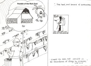 Parable Of The Rich Fool Worksheet The Rich Fool Parables