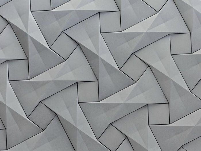 3d Wandpaneele Sind Als Elegante Raumaufwertung Im Trend Wandpaneele Fliesen Design Gemusterte Wand