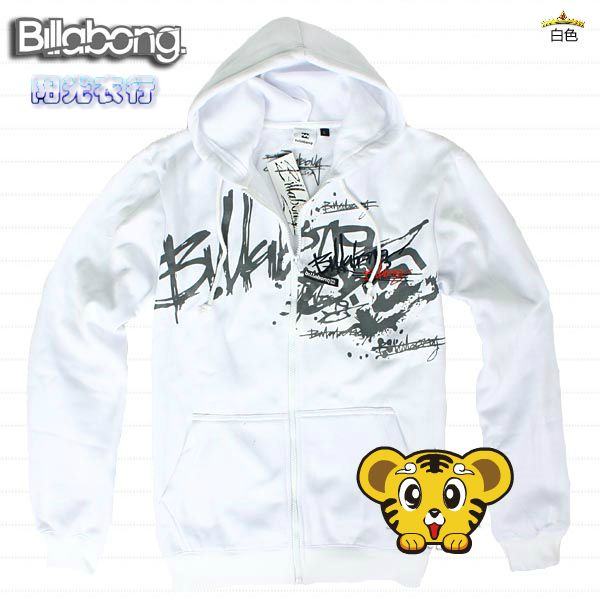 free shipping trend fashion Hot Sale 100% Cotton Billabong Thoracic hoodies Size can do Mix Order  $32.99