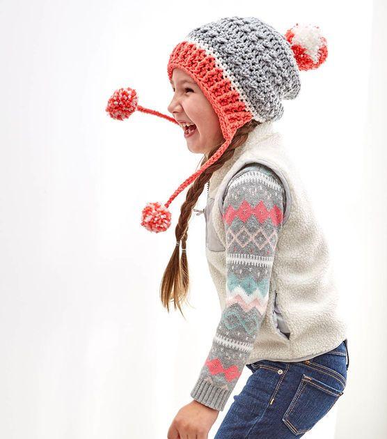 How To Crochet A Little Miss Pompom Hat   crocheting   Pinterest ...