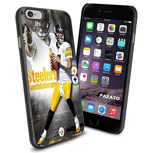 Iphone 6 Print Case Cover Pittsburgh Steelers Ben Roethlisberger Protector Black TPU PAZATO® PAZATO Sport http://www.amazon.com/dp/B00OF3JQZI/ref=cm_sw_r_pi_dp_svQtub1ESMRV1