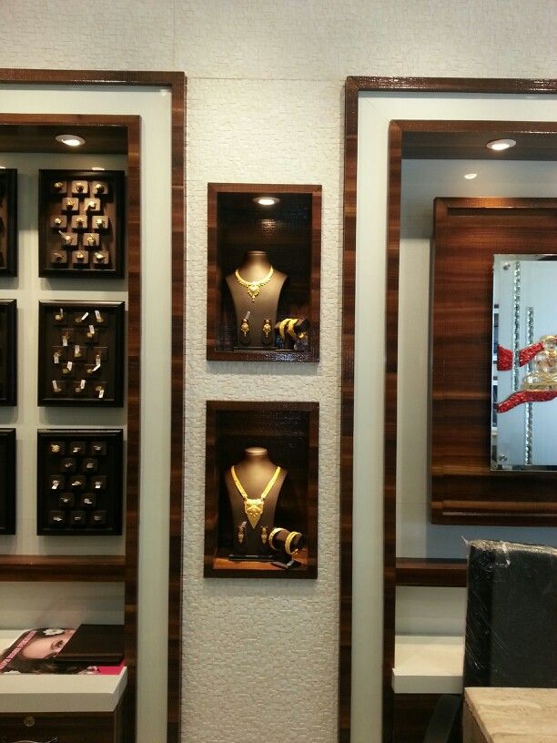 Duvar Kagidi Tas Dizaymn Ic Mekan Jewellery Showroom Shop