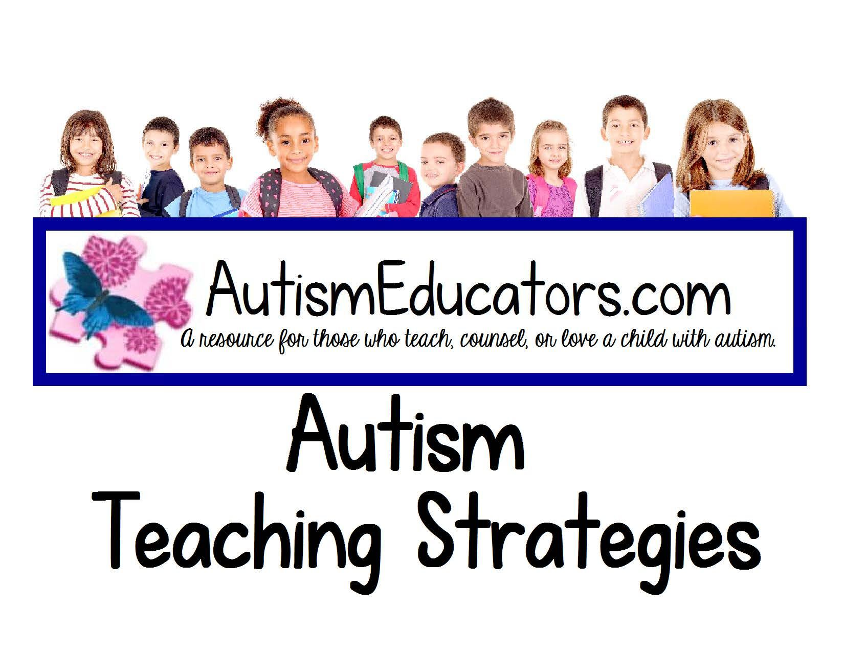 Pin By Autism Educators Inc On Autism Teaching
