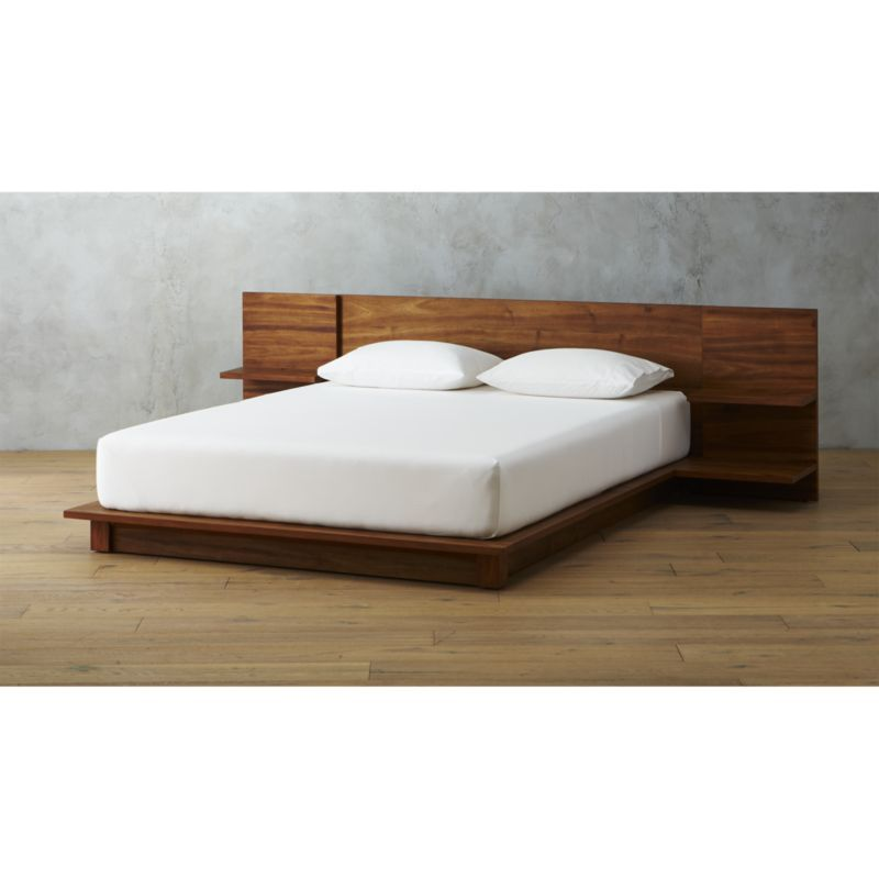 Andes Acacia Queen Bed In 2021 California King Bedding Modern Bedroom Furniture Bedroom Furniture Beds