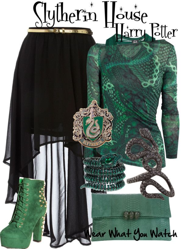 Inspired by Slytherin House at Hogwarts from the Harry Potter franchise.